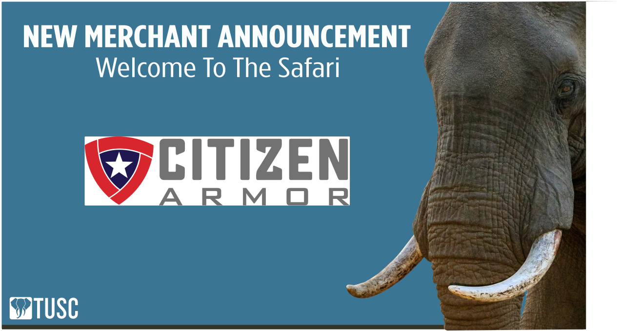 Citizen Armor Becomes First Retailer to Formally Agree to AcceptTUSC!